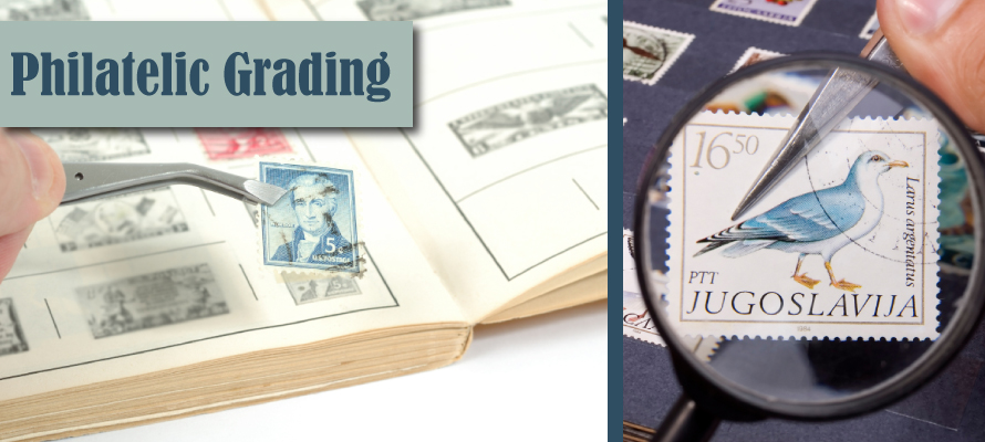 philatelic grading