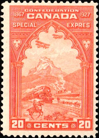 Special Delivery Stamps of Canada