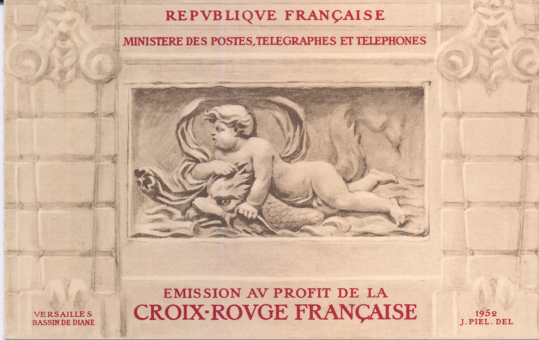 France Red Cross Booklets