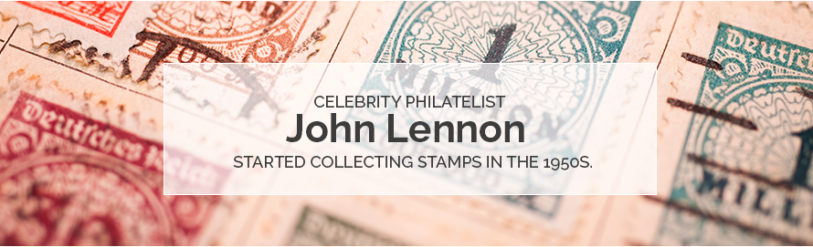 Famous Stamp Collector - John Lennon