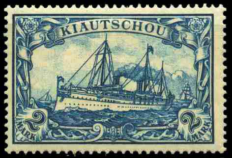 Kiauchau - The Stamps of Germany Used in China